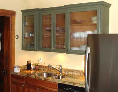 Kitchen on Vintage Style Kitchen Glass Door Cabinet