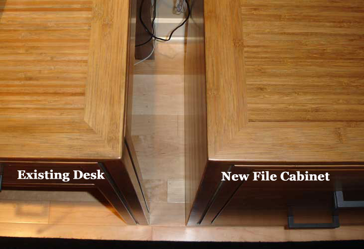 Bamboo File Cabinet File Drawer With Locking Drawer Glides Detail Of File  Cabinet And Matching Desk